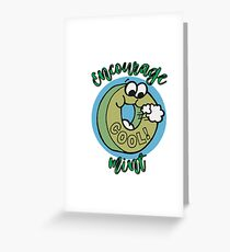 Candy Mint Funny Humor Encouragement Greeting Card