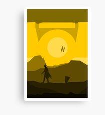 Borderlands - CL4P-TP Canvas Print