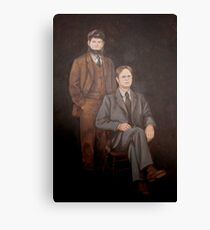 Dwight Schrute Mose Painting  Canvas Print