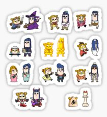 Pop Team Epic Sticker