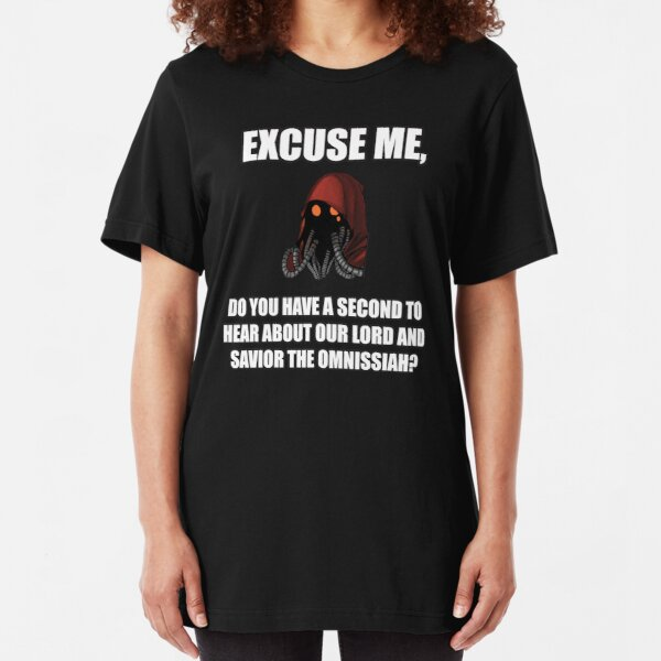 Lord and Savoir the Omnissiah Slim Fit T-Shirt