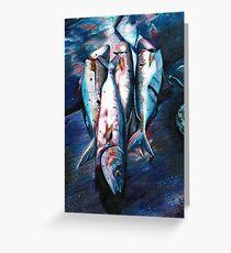 Dead Fish Greeting Card