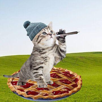 pie day kat by taco-elgato