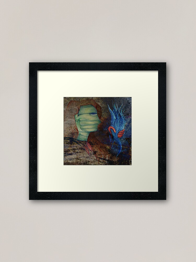 Alternate view of The Silencing of Liberty Framed Art Print