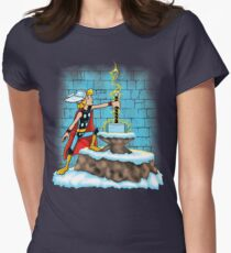 King Ar-THOR Women's Fitted T-Shirt
