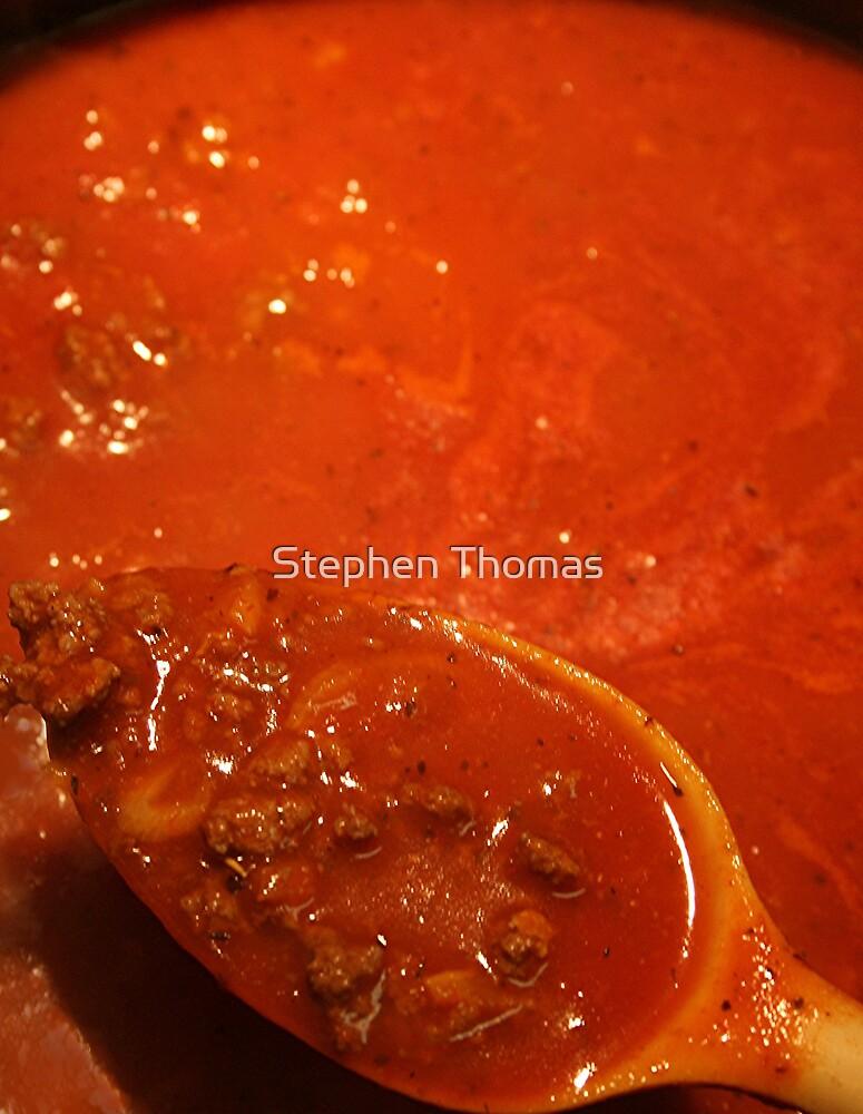 Spaghetti Meat Sauce by Stephen Thomas