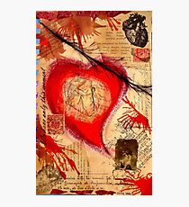 Bold Heart Photographic Print