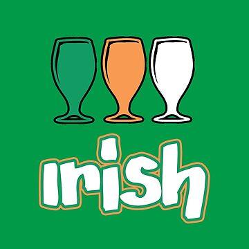 Irish Drinking T Shirt - St Patrick' Day by Just4doglovers