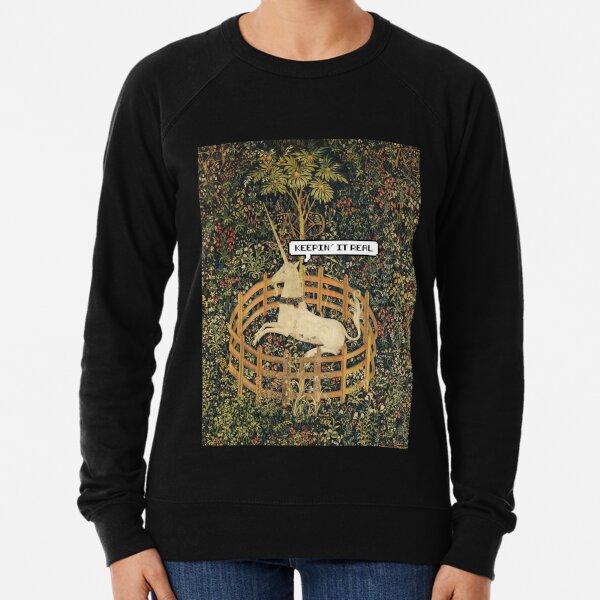 8 Bit Unicorn Lightweight Sweatshirt