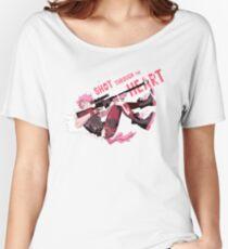 Camiseta ancha para mujer Disparo al corazón