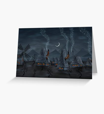 The Village Of Musicians Greeting Card
