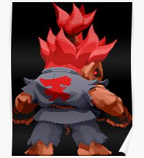 Super Puzzle Fighter Akuma Poster