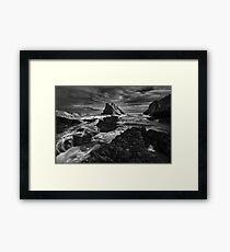 Bow Fiddle Storm Framed Print