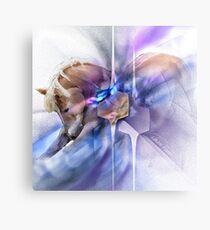 Horse equine animals,wildlife,wildlife art,nature Christian Spirituality Metal Print