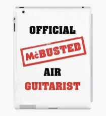 Official McBusted Air Guitarist iPad Case/Skin