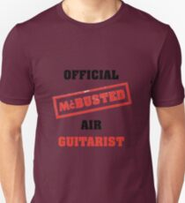 Official McBusted Air Guitarist Unisex T-Shirt