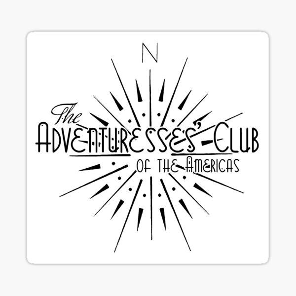 Adventuresses' Club of the Americas (ACotA) Sticker