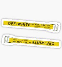 OFF-WHITE Straps Sticker