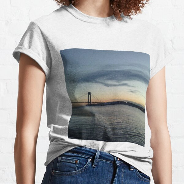 Verrazano Narrows Bridge, Brooklyn, NYC Classic T-Shirt