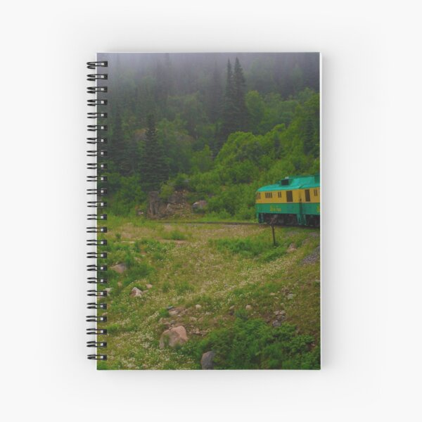 White Pass and Yukon Route Spiral Notebook