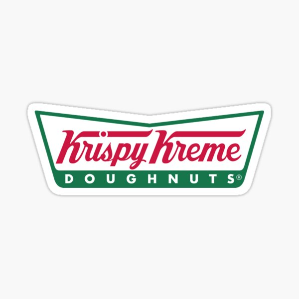 Krispy Kreme Sticker
