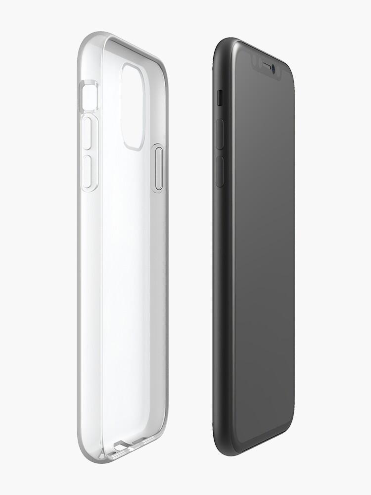 Vista alternativa de Funda y vinilo para iPhone azul