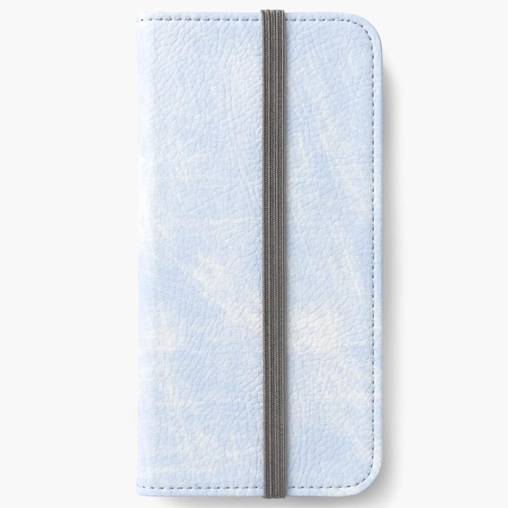 azul Fundas tarjetero para iPhone