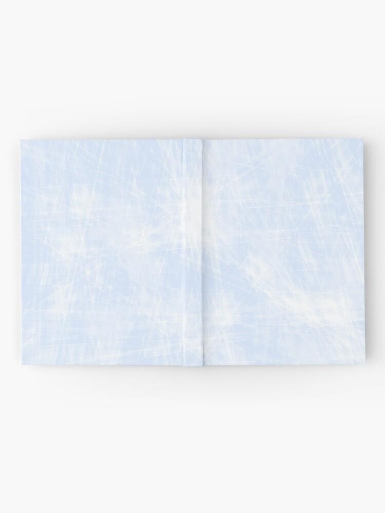 Vista alternativa de Cuaderno de tapa dura azul