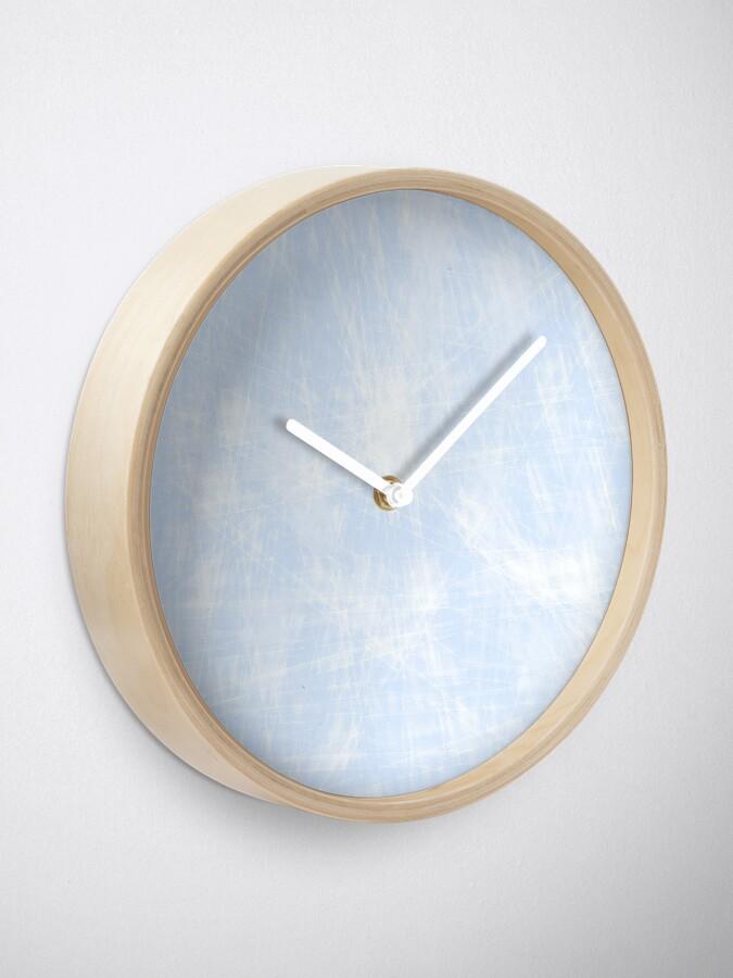 Vista alternativa de Reloj azul