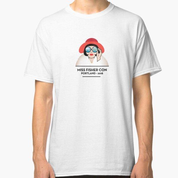 Miss Fisher Con 2018 - Portland Classic T-Shirt