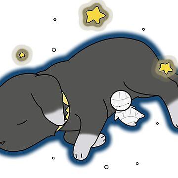 Goodnight, Mii-kun by JJCrane