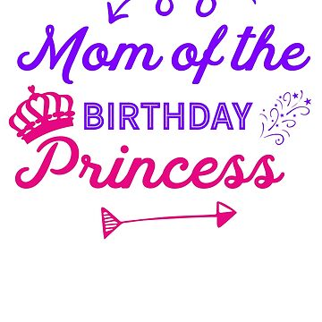Mom of the birthday Princess by Poxiel