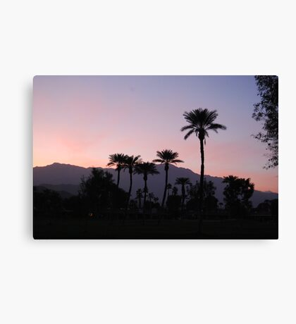 Sunset on the 14th Canvas Print
