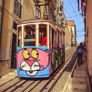 Tram in  Lisbon, Portugal  by 7horses