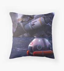 Subnautica Game Art Throw Pillow
