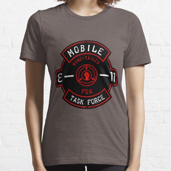 "MTF ""Nine-Tailed Fox"" Badge Essential T-Shirt"