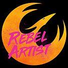 Rebel Artist by studioofmm
