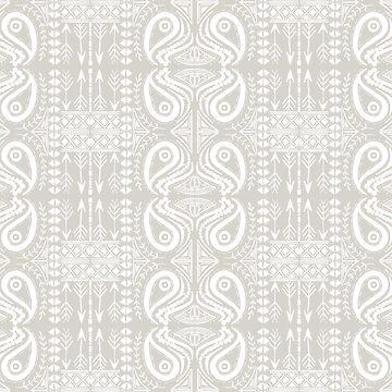 Tribal boho white by Kalaiicreations