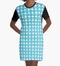 Droplet Graphic T-Shirt Dress