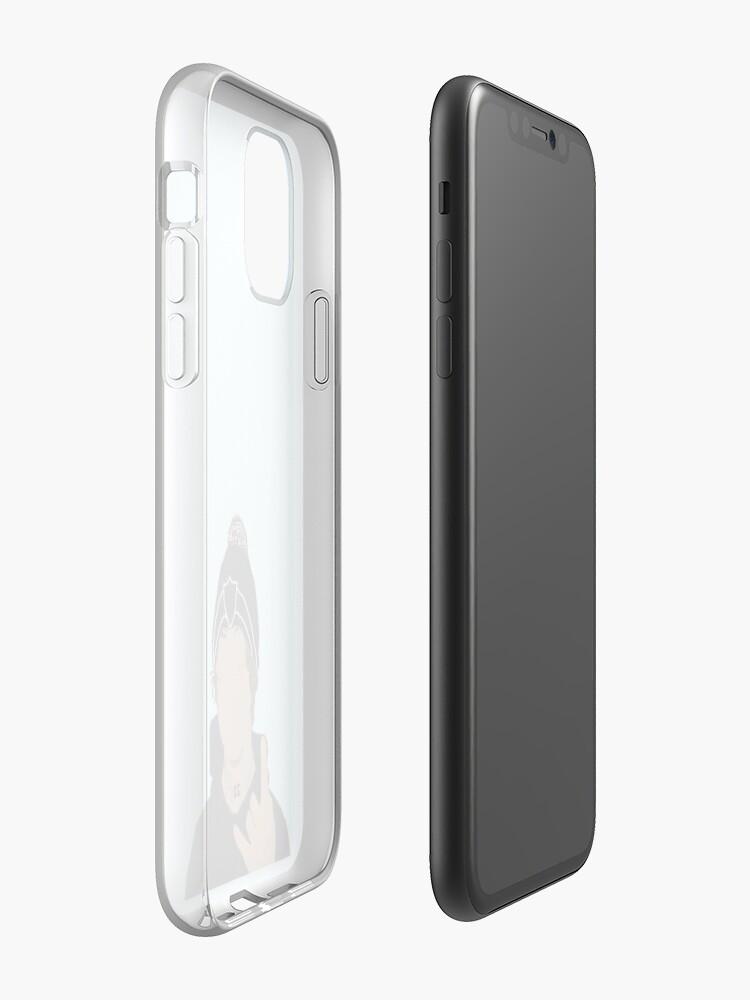 pochette silicone iphone x , Coque iPhone «Lil Xan Dessin», par xxxlemonade