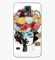 Flower Lady Colorful Surreal Abstract Art Design Case/Skin for Samsung Galaxy