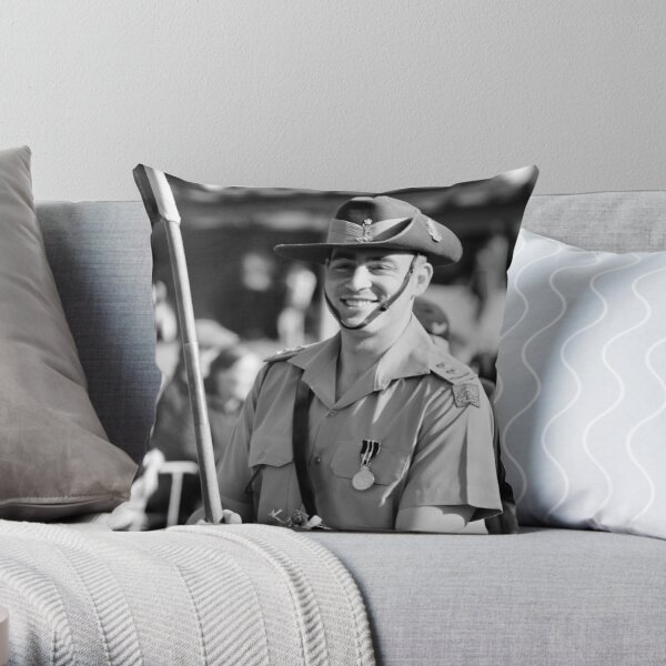 Melbourne ANZAC day parade 2013 - 02 Throw Pillow