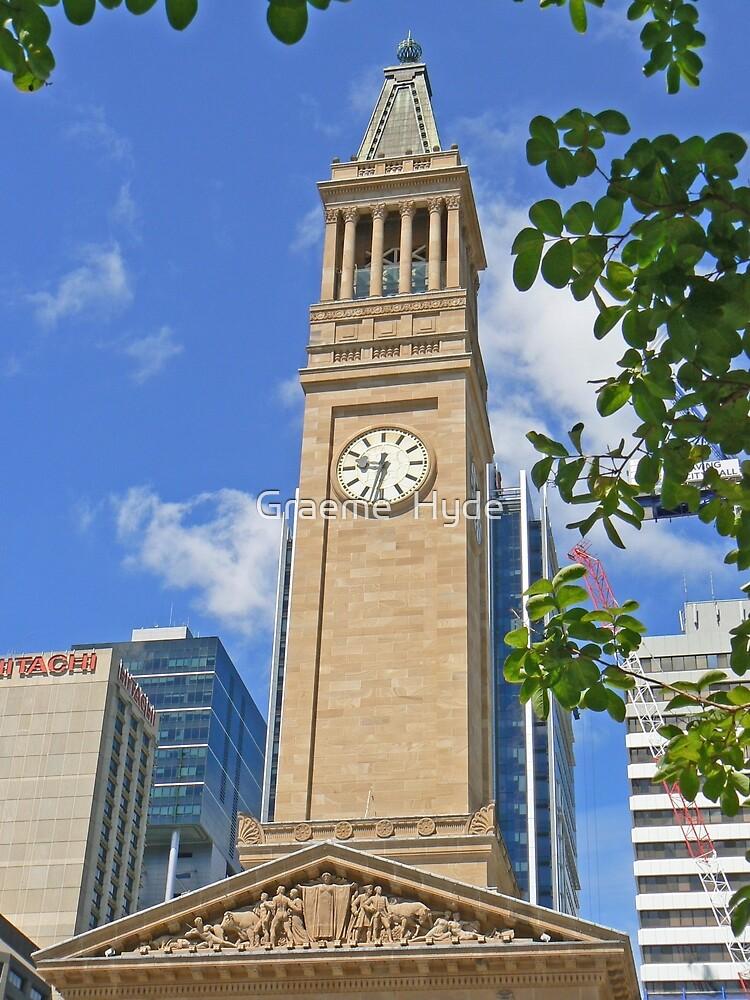 Brisbane City Hall by Graeme  Hyde