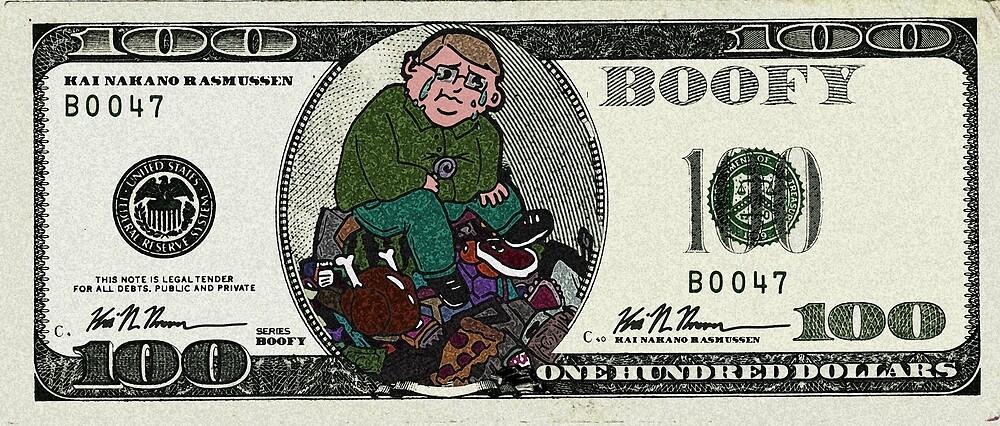 100 Dollars by boofyfashion