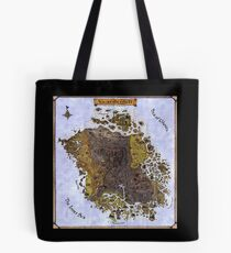 Elder scrolls map Tote Bag
