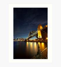 Sydney Harbour Bridge - 5D Mk II Art Print