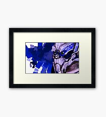 Garrus Framed Print