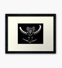 Tusks Framed Print