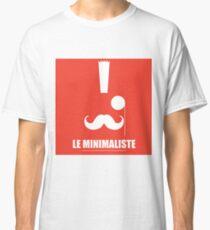 Le Minimaliste Art Vectoriel Classic T-Shirt