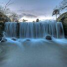 Weir in Bradgate Park by Dan Norcott